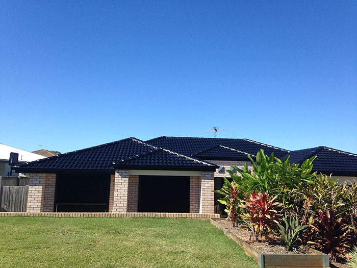 roof restoration after